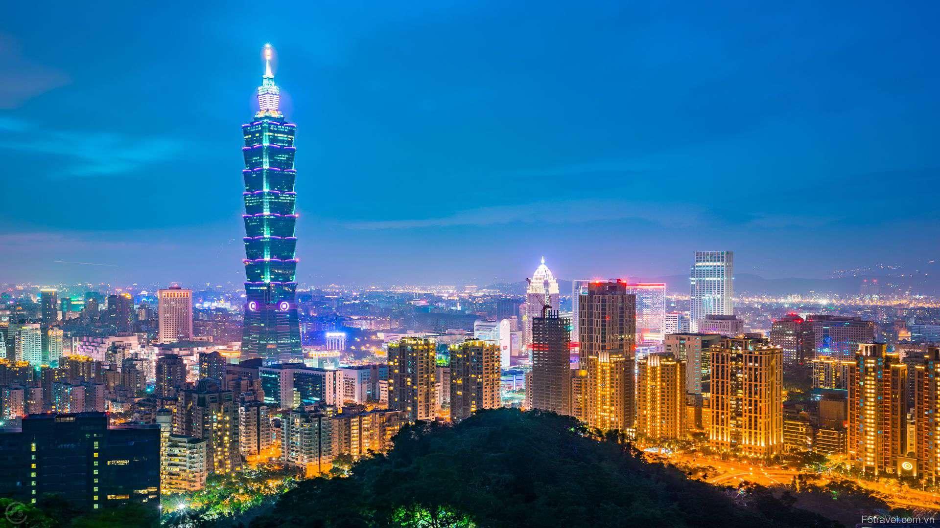 Taiwan taipeitower 1920x1080 - Tour du lịch Đài Loan