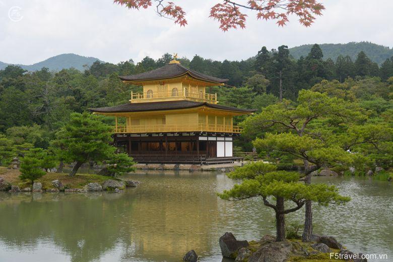 Japan golden temple 780x520 - Tour du lịch Nhật Bản: Tokyo - Núi Phú sỹ - Nagoya - Kyoto – Osaka – Tokyo