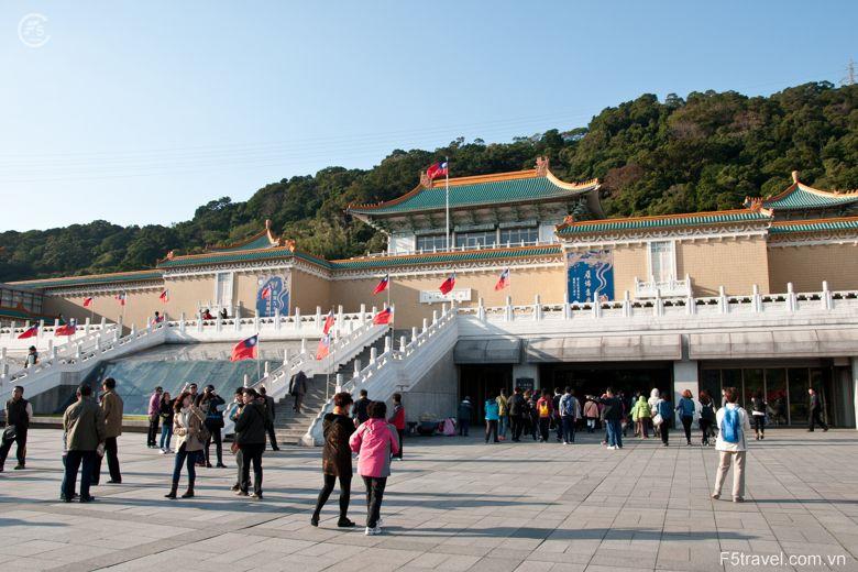 Taiwan taipei bao tang 780x520 - Khám phá du lịch thiên đường biển xanh HAWAII
