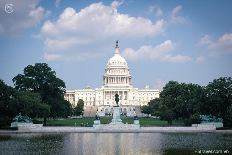 Usa washingtondc capitol 780x520 - Tour du lịch khám phá vẻ đẹp từ Tây sang Đông của nước Mỹ