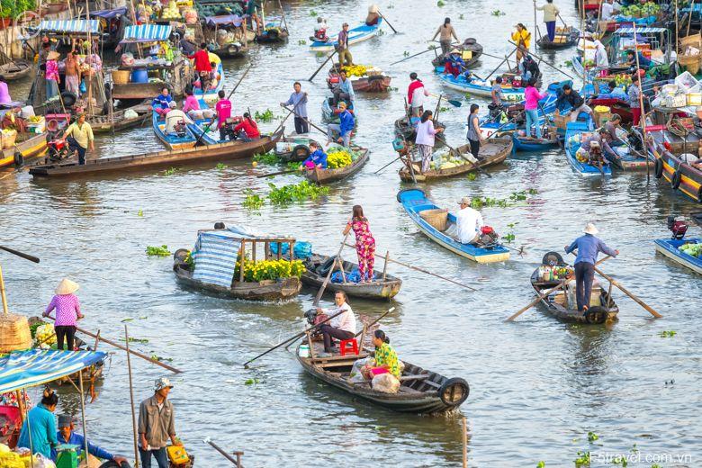 Vietnam can tho cho noi 780x520 - Tour du lịch về vùng sông nước cửu long (6 ngày 5 đêm)