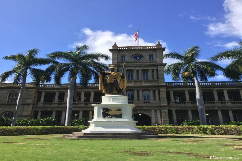 Usa hawai king kamehameha 780x520 - Khám phá du lịch thiên đường biển xanh HAWAII