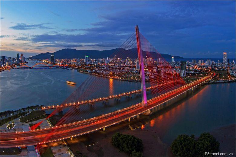 Vietnam Dannang SongHan 780x520 - Tour du lịch Hà Nội - Quảng Bình - Đà Nẵng  (5 ngày 4 đêm)