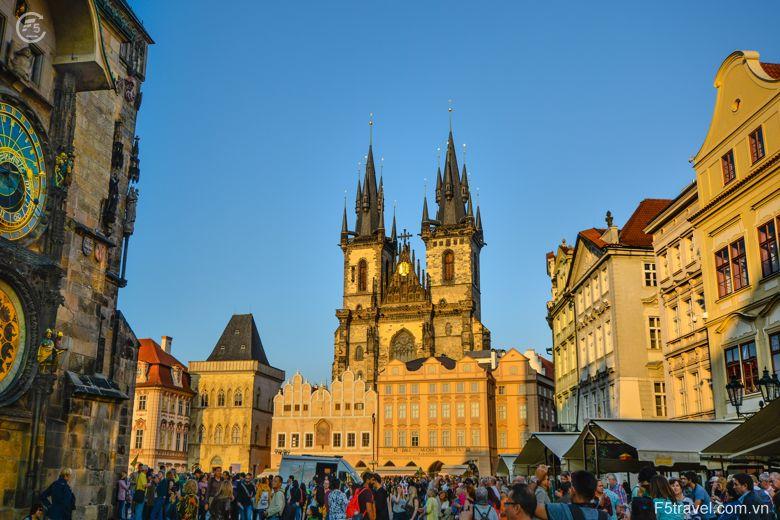 Czech prague8 780x520 - Tour du lịch Đông Âu: Áo – CH Séc – Hungary – Đức