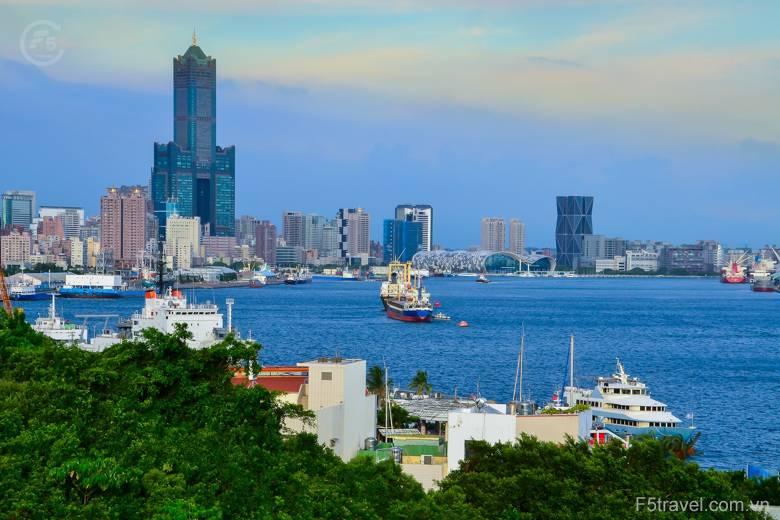 Taiwan kaohsiung harbor ferry terminal 780x520 - Tour du lịch Đài Loan: Đai Bắc – Cao Hùng - Đai Trung với giá cực hấp dẫn, thủ tục Visa đơn giản